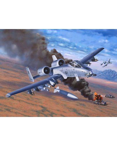 Сглобяем модел на военен самолет Revell - A-10 Thunderbolt II (04687) - 2