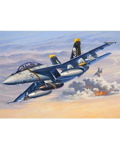 Сглобяем модел на изтребител Revell - F/A-18F SUPER HORNET twin seater (04864) - 2