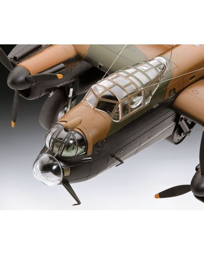 Сглобяем модел на военен самолет Revell - Avro Lancaster DAMBUSTERS (04295) - 5