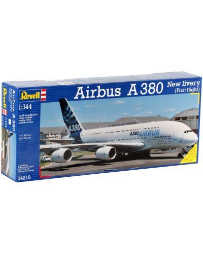 Сглобяем модел на самолет Revell - Airbus A 380 Design New livery First Flight (04218) - 2