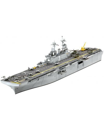 Сглобяем модел на кораб-самолетоносач Revell - Assault Carrier U.S.S. KEARSARGE (LHD-3) (05110) - 1