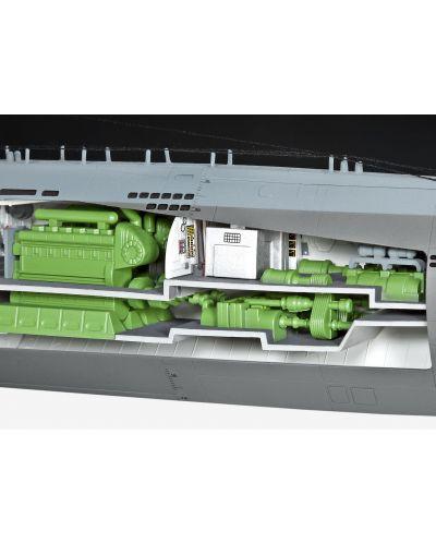 Сглобяем модел на подводница Revell - U-Boat Typе XXI (05078) - 4