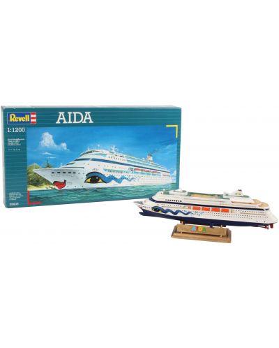 Сглобяем модел на пътнически кораб Revell - AIDA (05805) - 2
