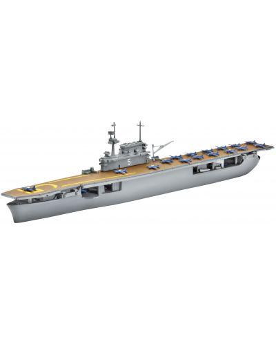 Сглобяем модел на военен кораб Revell - U.S.S Yorktown (CV-5) (05800) - 1