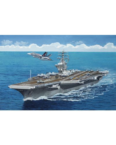 Сглобяем модел на военен кораб Revell - U.S.S. Nimitz (CVN-68) (05814) - 2
