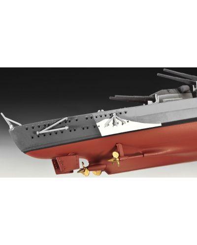 Сглобяем модел на военен кораб Revell - Battleship BISMARCK (05098) - 6