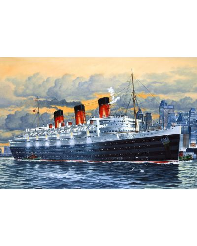Сглобяем модел на пътнически кораб Revell - Queen Mary (05203) - 2