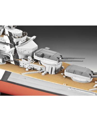 Сглобяем модел на военен кораб Revell - Battleship BISMARCK (05098) - 7