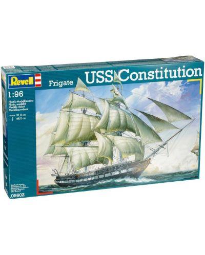 Сглобяем модел на ветроходен кораб Revell -  U.S.S. Constitution (5602) - 1