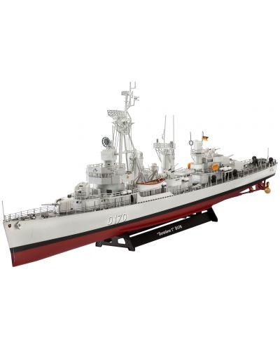 Сглобяем модел на военен кораб Revell - German DESTROYER CLASS 119 (Z1/Z5) (05097) - 1