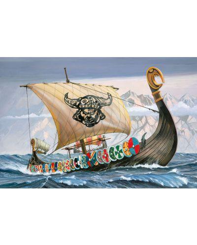 Сглобяем модел на кораб Revell - Viking Ship (05403) - 2