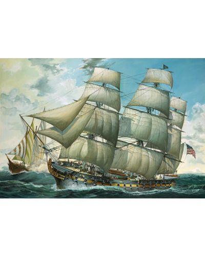 Сглобяем модел на ветроходен кораб Revell - USS United States (05406) - 2