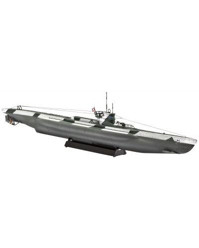 Сглобяем модел на подводница Revell - German Minelayer Type VIID (05107) - 1