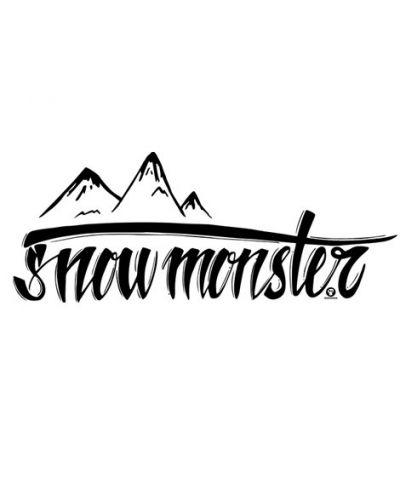 Тениска RockaCoca Snow Monster, бяла, размер M - 2