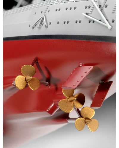 Сглобяем модел на военен кораб Revell - Battleship BISMARCK (05040) - 5