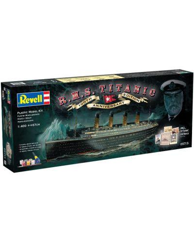 Сглобяем модел на пътнически кораб Revell - R.M.S. Titanic, 100th anniversary edition (05715) - 2