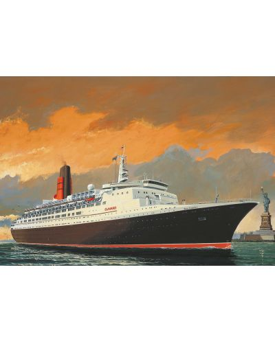 Сглобяем модел на пътнически кораб Revell - Queen Elizabeth 2 (05806) - 2