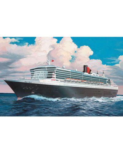 Сглобяем модел на пътнически кораб Revell - OceanLiner QUEEN MARY 2 (05808) - 2