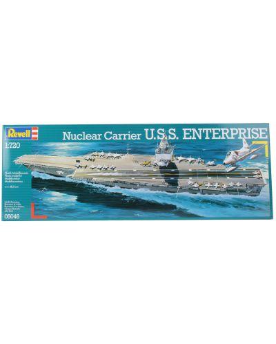 Сглобяем модел на военен кораб-самолетоносач Revell - U.S.S. Enterprise (05046) - 2