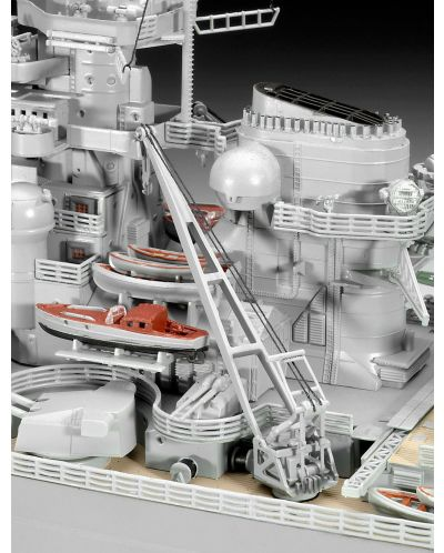 Сглобяем модел на военен кораб Revell - Battleship BISMARCK (05040) - 7
