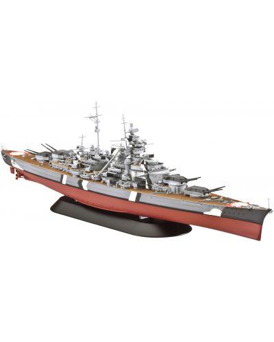 Сглобяем модел на военен кораб Revell - Battleship BISMARCK (05098) - 1