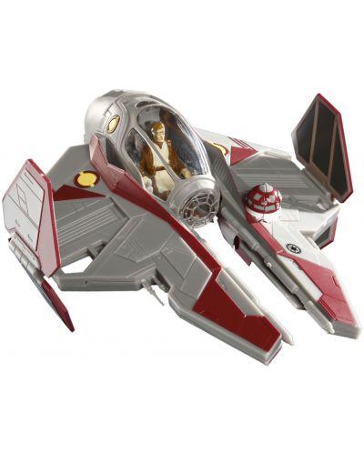 Сглобяем модел на космически кораб Revell Easykit Pocket STAR WARS -  ObiWan's Jedi Starfighter (06721) - 1