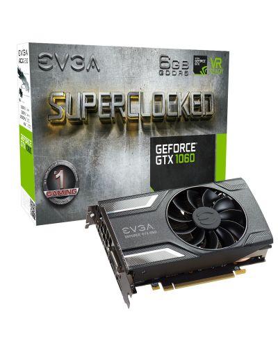 Видеокарта EVGA GeForce GTX 1060 SuperClocked Gaming (6GB GDDR5) - 1