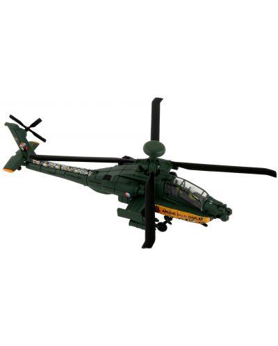 Сглобяем модел на военен хеликоптер Revell Easykit - AH-64 Apache (06646) - 2
