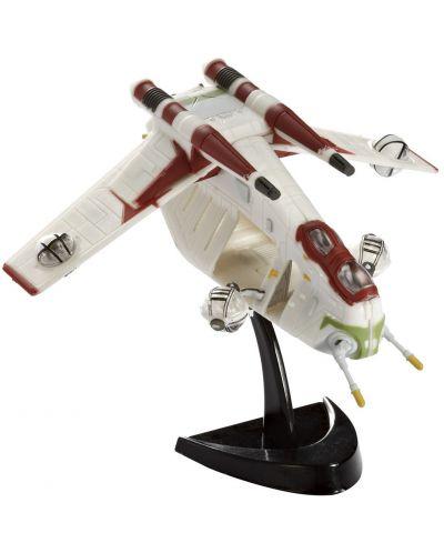 Сглобяем модел на космически кораб Revell Easykit Pocket STAR WARS - Republic Gunship (06729) - 1