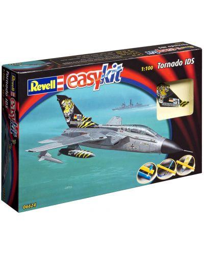 Сглобяем модел на военен самолет Revell Easykit - Tornado (06624) - 3