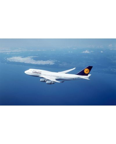 Сглобяем модел на самолет Revell Easykit - Boeing 747-400 Lufthansa (06641) - 3