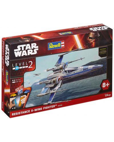 Сглобяем модел на космически кораб Revell Star Wars: Episode VII - Resistance X-Wing Fighter (06696) - 3