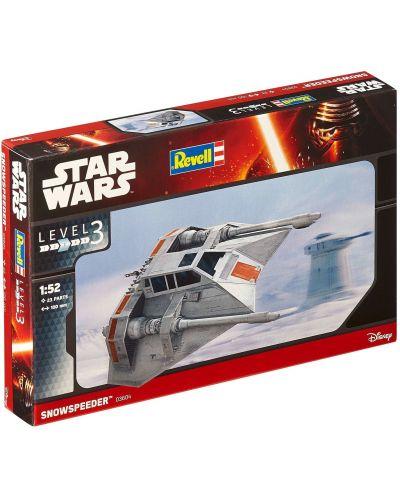 Сглобяем модел на космически кораб Revell Easykit STAR WARS - Snowspeeder (06661) - 2