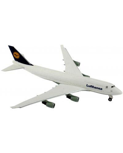 Сглобяем модел на самолет Revell Easykit - Boeing 747-400 Lufthansa (06641) - 2