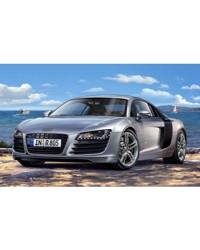Сглобяем модел на автомобил Revell - Audi R8 (07398) - 2