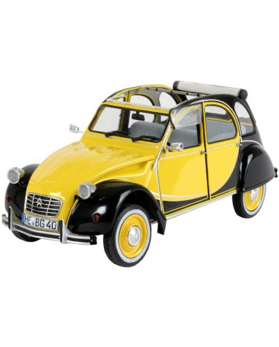 Сглобяем модел на автомобил Revell - Citroen 2CV CHARLESTON (07095) - 1