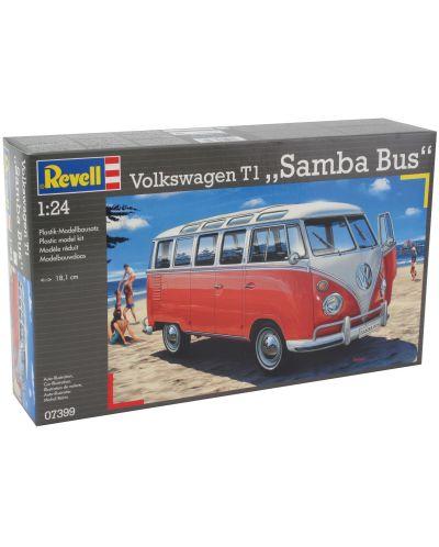 Сглобяем модел на автомобил Revell - VW T1 SAMBA BUS (07399) - 4