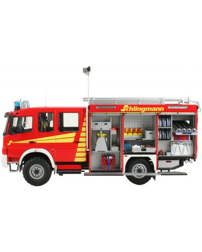 Сглобяем модел на пожарна кола Revell - Schlingmann TLF 16/25 Mercedes Benz Atego 1529 AF (07586) - 1