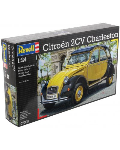 Сглобяем модел на автомобил Revell - Citroen 2CV CHARLESTON (07095) - 7