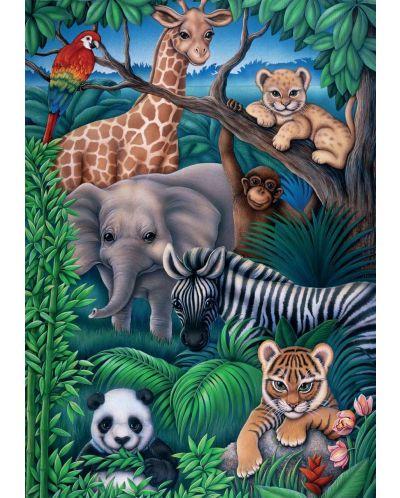 Пъзел Ravensburger от 35 части - Животинско царство - 2