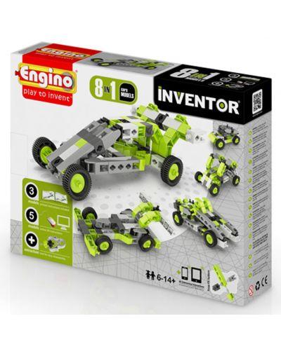 Конструктор Engino Inventor - 8 модела коли - 1