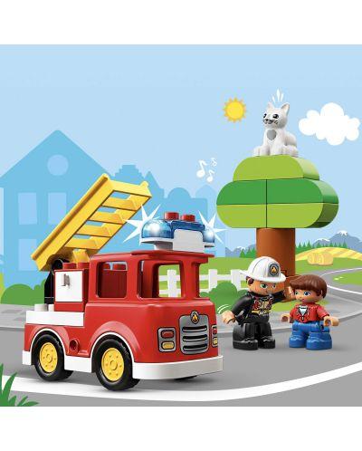 Конструктор Lego Duplo - Пожарникарски камион (10901) - 1