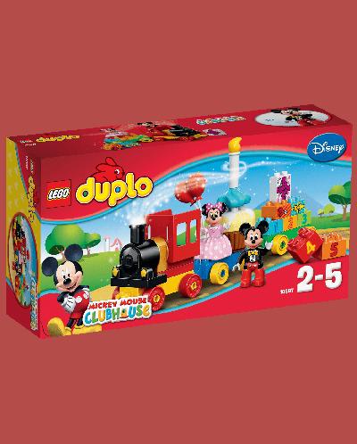 Конструктор Lego Duplo Disney - Парад за рожден ден с Мики и Мини (10597) - 1