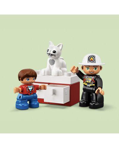 Конструктор Lego Duplo - Пожарникарски камион (10901) - 4