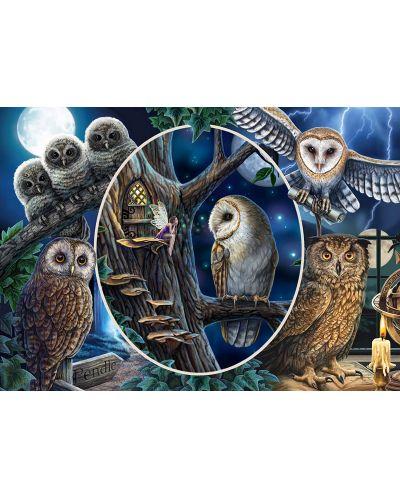 Пъзел Schmidt от 1000 части - Мистериозните сови, Лиса Паркър - 2