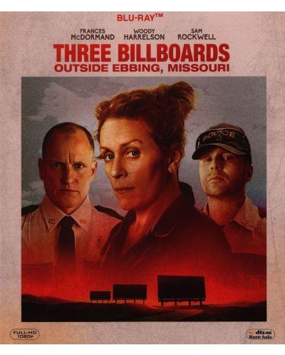 Три билборда извън града (Blu-ray) - 1