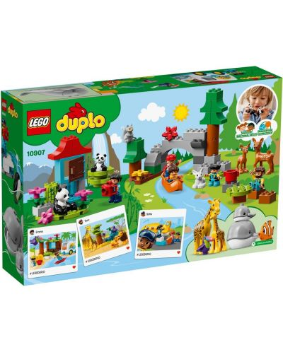 Конструктор Lego Duplo - World Animals (10907) - 3