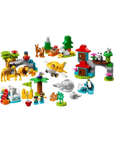 Конструктор Lego Duplo - World Animals (10907) - 2