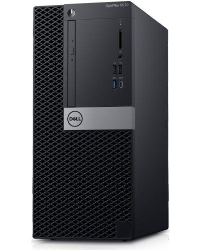 Настолен компютър Dell Optiplex - 5070 MT, черен - 3