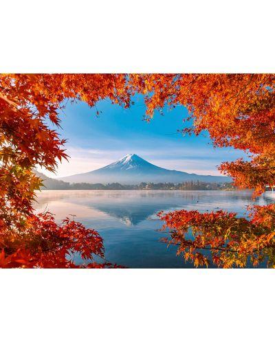 Пъзел Schmidt от 1000 части - Есенна магия край Фуджи, Япония - 2